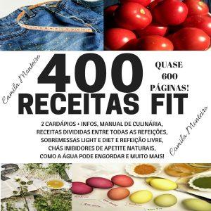 400 Receitas Fit com Cardápios (+ebook bonus)