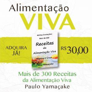 Livro de Receitas Vivas e Veganas - Minhas anotações, mais de 300 receitas da Alimentação Viva
