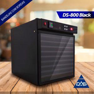 Desidratador de Alimentos – Modelo DS-800 Black (9 Bandejas)