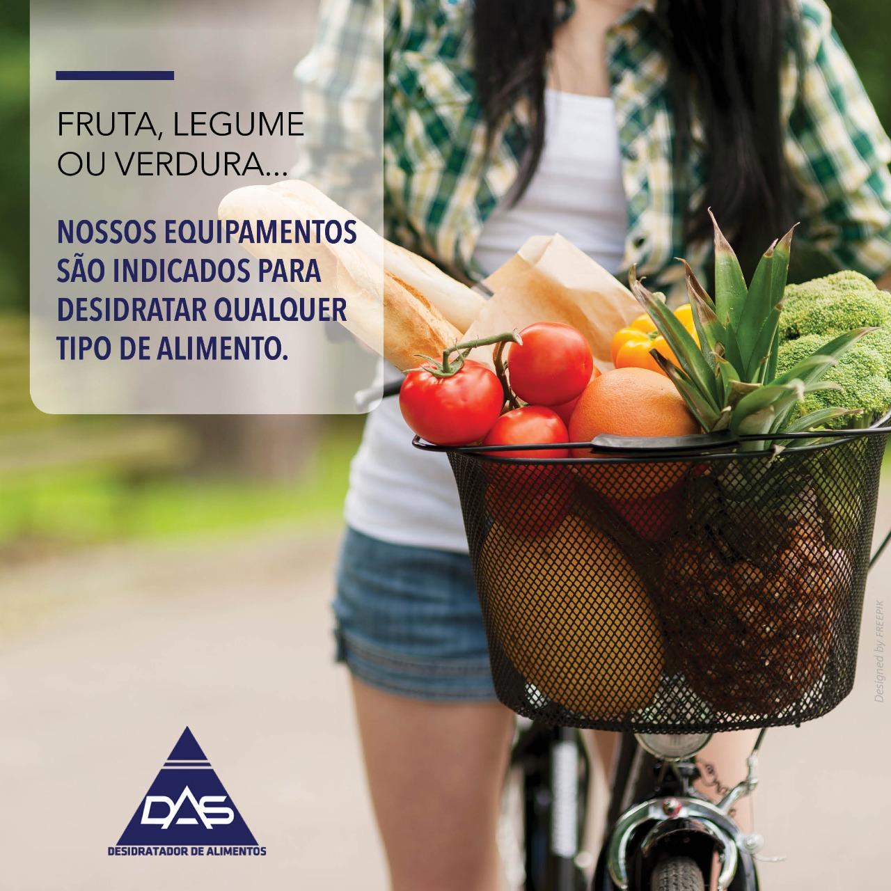 Desidratador de frutas e legumes